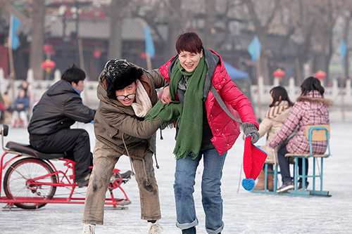 """抹布女海清剧照_海清张译""""从冤家到情侣"""" 揭秘呆萌男成功秘诀-搜狐娱乐"""