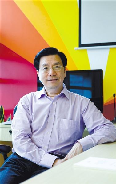 创新工场CEO李开复 孙纯霞 摄