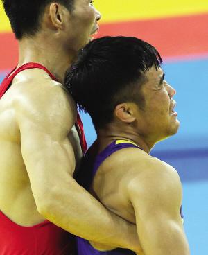 古典式摔跤 津将宝力日获第四(图)