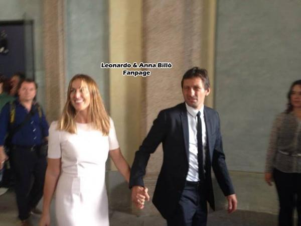 莱昂纳多大婚米兰众名宿出席 卡卡大罗捧场(图
