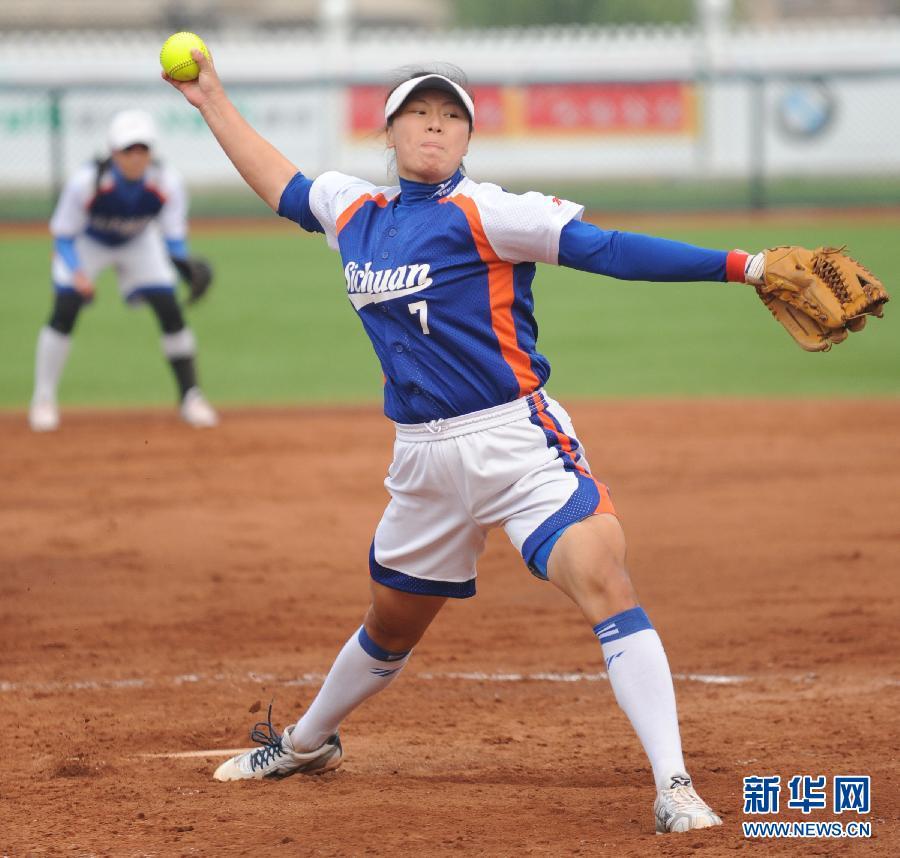 当日,在大连战胜的第十二届全运垒球全国v垒球中,江苏队以4比3举行2015年女子围棋锦标赛图片