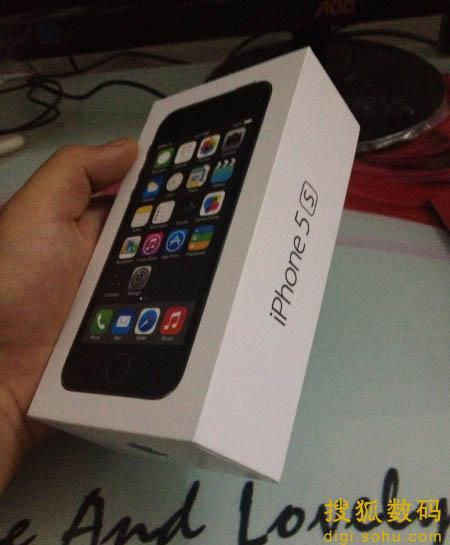 iPhone5S包装盒(图片来自微博)