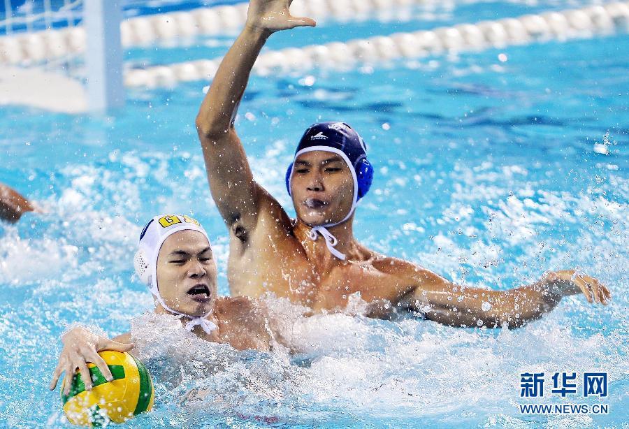 当日,在鞍山举行的第十二届全运水球项目男子第二轮v水球中,广东队以冰焰悠悠球为什么不转图片