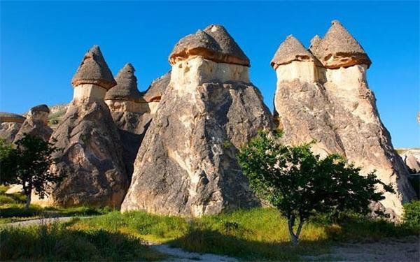 卡帕多西亚因奇石闻名于世(资料图)