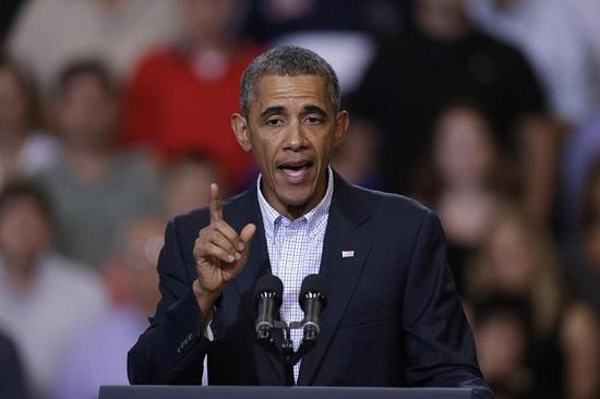 奥巴马发表全国讲话。