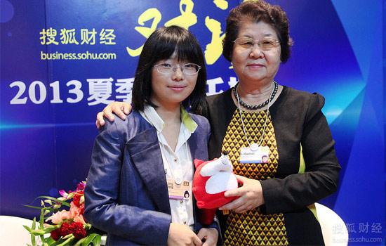 李桂莲接受搜狐财经独家专访