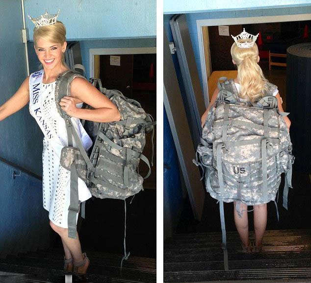 美女兵竞选美国小姐鼓励女性自强组图 搜狐滚