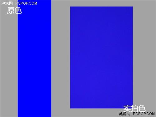 从测试图片中我们看到,索尼Xperia Z1屏幕实拍的颜色与原图非常相近,除了白色稍有些发灰色以外,其他的两种纯色显示都是很不错的。