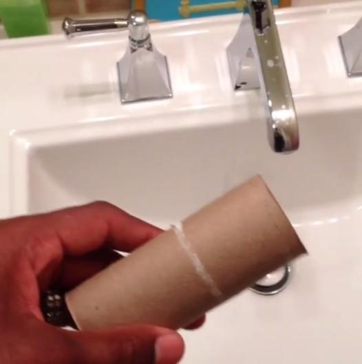 1.用完的卫生纸