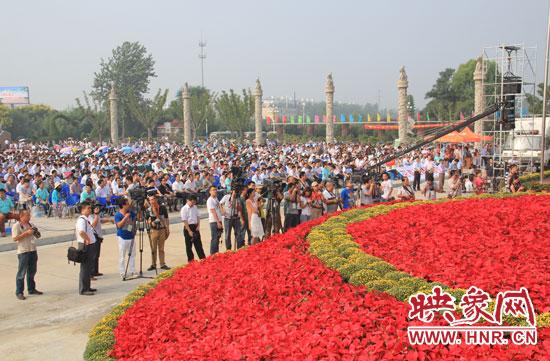 第十三届中国 中原花木交易博览会在许昌鄢陵隆重开幕 组图