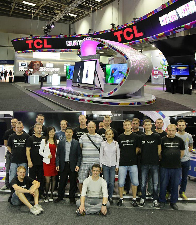 IFA2013德马吉展览为TCL集团打造全球EI系统