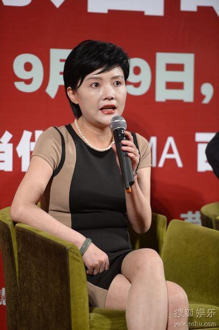 马晓晴谈参演《团圆》:我只是酱油 不算复出