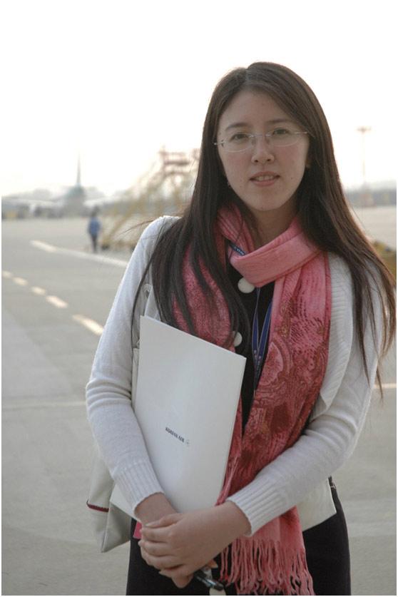 《上海采风》杂志社编辑部主任胡凌虹