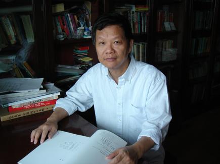 中国文革美术专家,中国艺术研究院建筑艺术研究所副所长王明贤