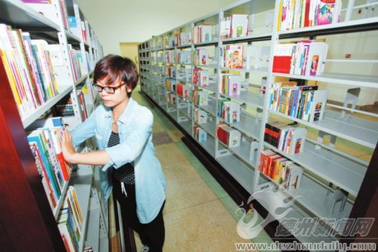 德州市图新城分馆获赠万余册图书 拟于10月份
