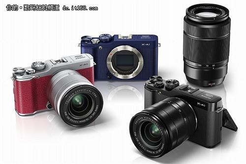 富士正式发布新款入门级无反相机X-A1
