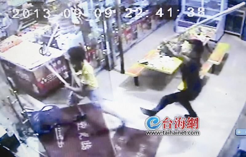 厦门 同安/生意竞争20多人打砸超市(组图)