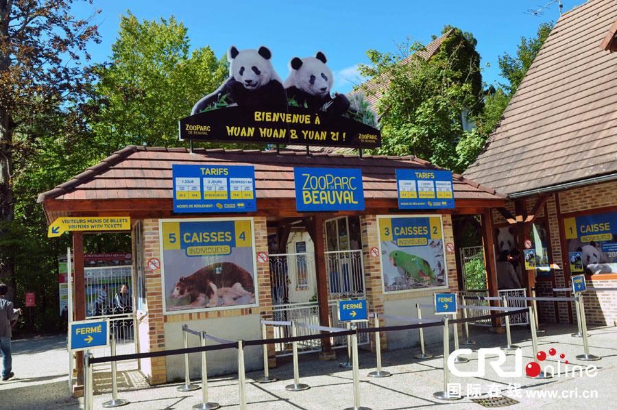 熊猫守护之旅在法国博瓦勒动物园落下帷幕(高