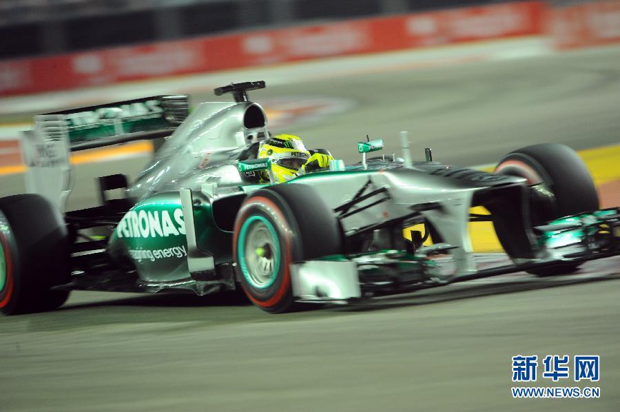 2018f1新加坡杆位车载 2018年f1新加坡站正赛