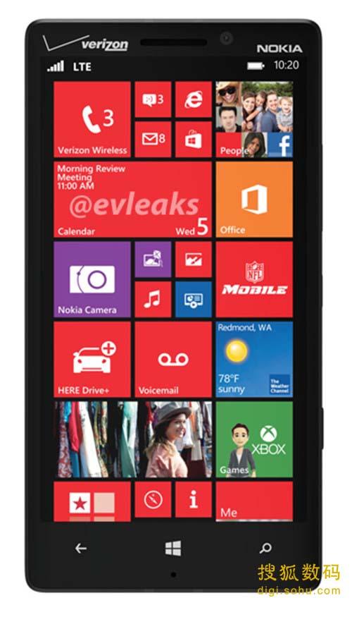 Lumia 929渲染图
