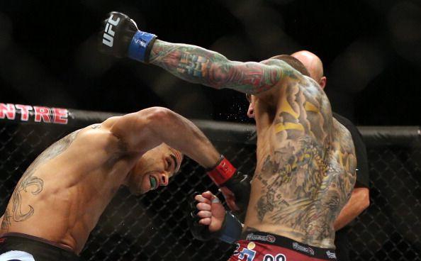 图文:[搏击]ufc165期精彩瞬间 选手纹身了得
