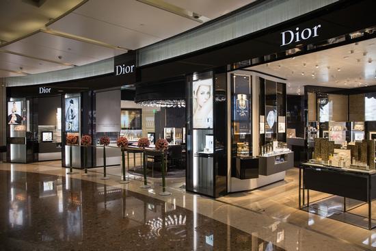 【图】Dior迪奥香水化妆品精品店开幕