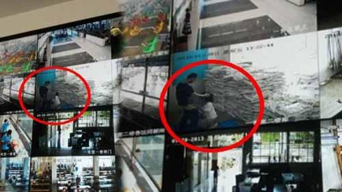 江南大学不雅视频曝光 画面透过大厅电视墙直播