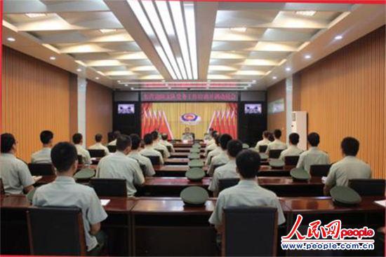 图为党务工作培训开训动员会(陈镜旭 摄)