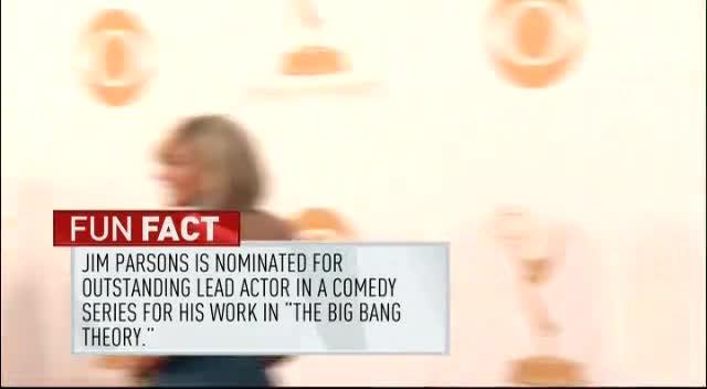 第65届艾美奖 《生活大爆炸》吉姆帕森亮相红毯