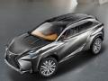 [海外新车]2013新款雷克萨斯LF-NX概念车