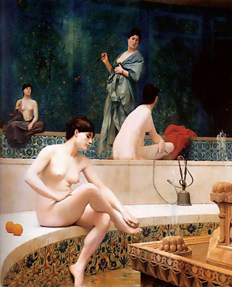 原标题 法国画家杰罗姆油画作品欣赏