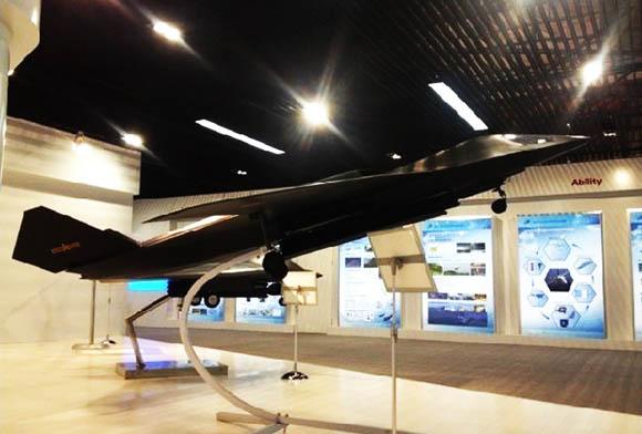 資料圖:最新曝光的中國隱身轟炸機。