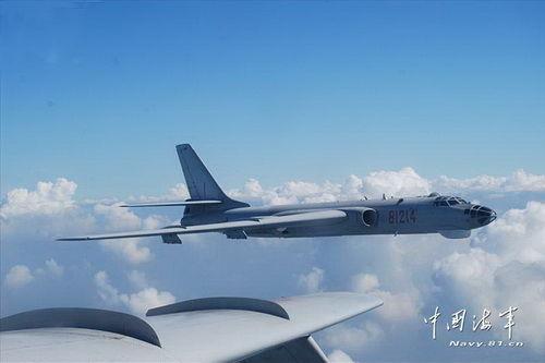 資料圖:轟-6G轟炸機。