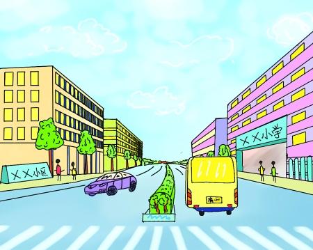 网友张武益通过手绘漫画,聊聊居民们对新建小区教育配套的愿景.
