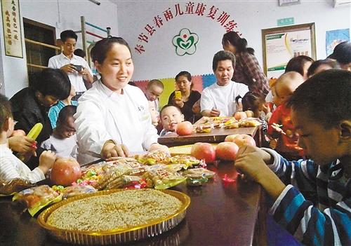 中国脑瘫卖房建康复中心治好11名网站视频情趣内衣女子最新重庆美女写真患儿图片