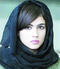 资料图:一名阿拉伯女孩