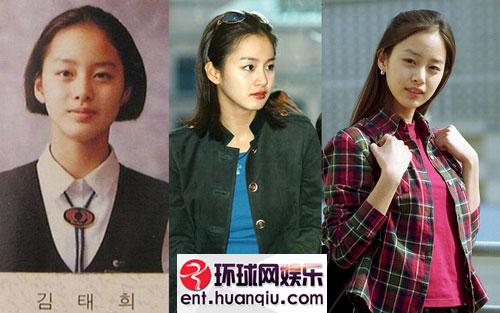 杨幂 宋慧乔/对于整容成风的韩国娱乐圈,要找几个纯天然的美女明星还真是一...