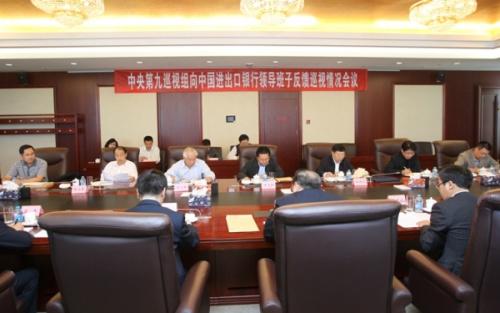 巡视组:中国进出口银行存利用信贷权谋私利情形