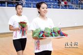 图文:东亚运赛事流程演练 礼仪志愿者就位