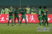 中超图:国安2-0申花 乌塔卡马季奇庆祝