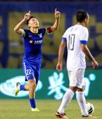中超图:阿尔滨2-2平富力 于大宝指天庆祝