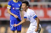 中超图:阿尔滨2-2平富力 张远进球后庆祝