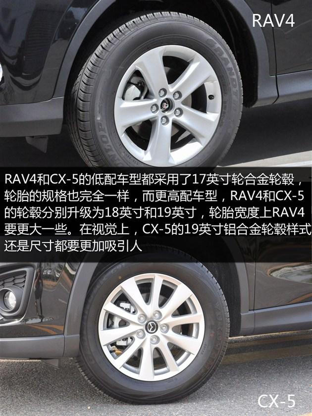 马自达CX-5 -日系SUV之战 丰田RAV4对比长安马自达CX 5高清图片