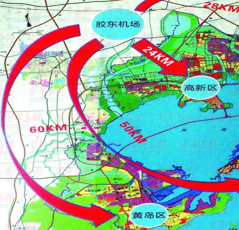 青岛新机场落址胶州(图)图片