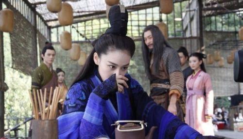 于正新神雕剧照曝光 小龙女陈妍希被张馨予秒杀