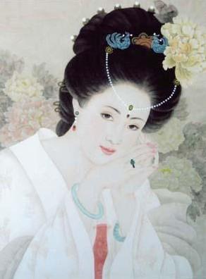 中国古代四大美女情史秘闻(组图)