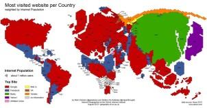 全球互联网巨头世界版图出炉