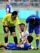 中超图:泰达2-0阿尔滨 悍将受伤