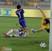 中超图:泰达2-0阿尔滨 曹阳破门瞬间