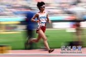 图文:日本选手夺东亚运首金 松琦璃子脚下生风